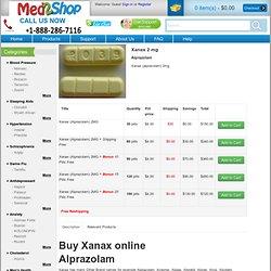 Purchase xanax online cheap