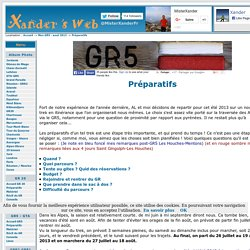 Ma Grande Traversée des Alpes : GR5, GR55, GR52 : Préparatifs