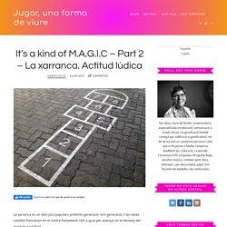 It's a kind of M.A.G.I.C – Part 2 – La xarranca. Actitud lúdica - Jugar, una forma de viure - Imma Marín