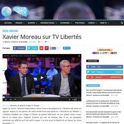 Xavier Moreau sur TV Libertés