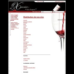 Xavier vins - Importateurs