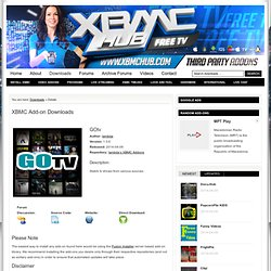 Library of XBMC Addons