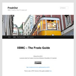 XBMC – The Frodo Guide