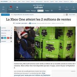 La Xbox One atteint les 2 millions de ventes