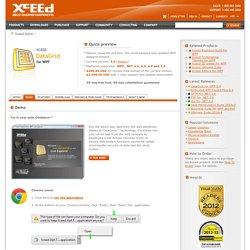 Xceed DataGrid for WPF Demo (...Tags: XBAP XAML data grid view gridview C# VB.NET)