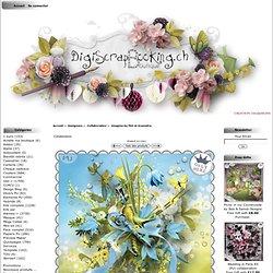 Imagine by FDI et Xcenedra : Digiscrapbooking.ch, la Boutique, Votre boutique de digiscrap