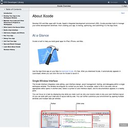 Xcode 4 User Guide: Writing and Editing Source Code