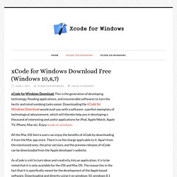 xCode for Windows Download Free (Windows 10,8,7) - xCode for Windows Download