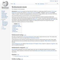 Xenharmonic music