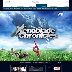 Xenoblade Chronicles - Nintendo - Games