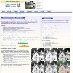 Software - Hatchery filter plugin for Photoshop