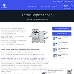 Xerox Copier Lease - Copier Lease Center