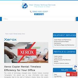 Xerox Copier Rental