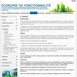 Economie de fonctionnalité
