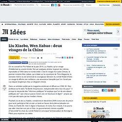 Liu Xiaobo, Wen Jiabao : deux visages de la Chine