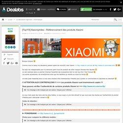[TopYX] Xiaomiphiles - Référencement des produits Xiaomi
