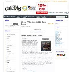 Xilinx FPGA XC3S1000 Core Board