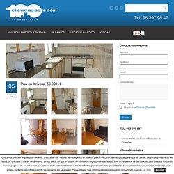 Piso en Xirivella, 50.000.-€ - Inmobiliaria Ciencasas