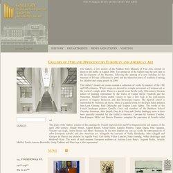 Галерея искусcтва стран Европы и Америки XIX-XX веков