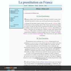XIXeme et XXeme siècle - La prostitution en France