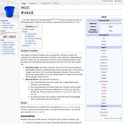 XKCD Wiki