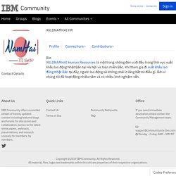 XKLDNAMHAI HR - Profile