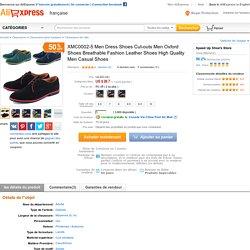 Online Shop XMC0002-5 Men Dress Shoes Cut-outs Men Oxford Shoes Breathable Fashion Leather Shoes High Quality Men Casual Shoes