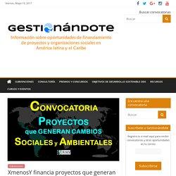 XmenosY Subvenciones a proyectos que generan cambio social