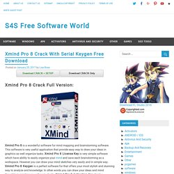 Xmind Pro 8 Crack With Serial Keygen Free Download