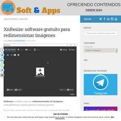 XnResize: software gratuito para redimensionar imágenes