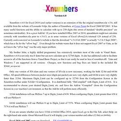 Xnumbers60