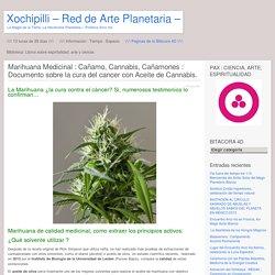 Marihuana Medicinal : Cañamo, Cannabis, Cañamones : Documento sobre la cura del cancer con Aceite de Cannabis.