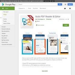 Xodo Lector y Editor de PDF