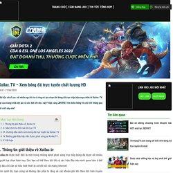 Xoilac.TV - Xem bóng đá trực tuyến chất lượng HD