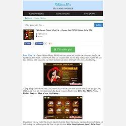Xom Nha La, Game XNL, Tải Game Xóm Nhà Lá 3D
