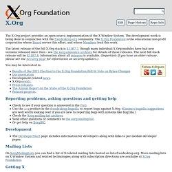 X.org - Wiki