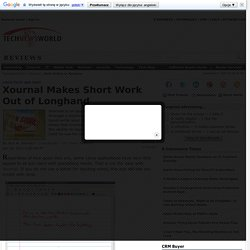 Xournal Makes Short Work Out of Longhand