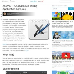Xournal - A Great Note-Taking Application For Linux