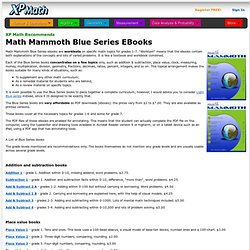 Math eBooks