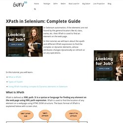 XPath in Selenium: Complete Guide