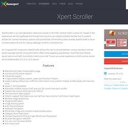 Xpert Scroller