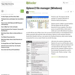 Xplorer2 file manager