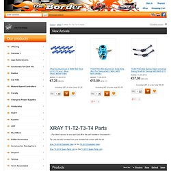 XRAY T1-T2-T3 :: Xray :: The Border Online RC Shop