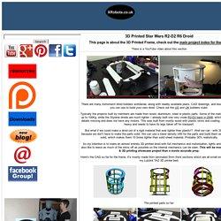 XRobots.co.uk - 3D Printed R2-D2 R6 Droid Frame