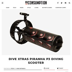 Dive Xtras Piranha P3 Diving Scooter