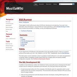 XUL:Xul Runner - wiki.mozilla.org