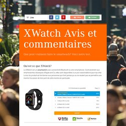 XWatch Prix