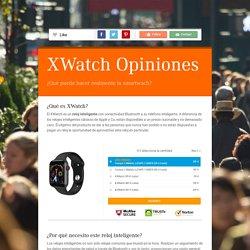 XWatch Precio