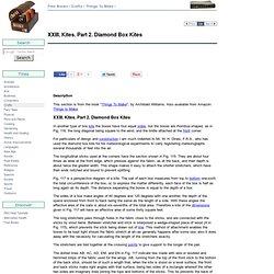 XXIII. Kites. Part 2. Diamond Box Kites