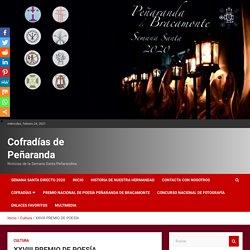 """08/03 XXVIII Premio Nacional de Poesía """"Peñaranda de Bracamonte"""" 2021"""